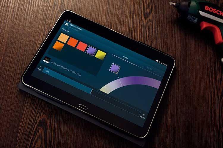 Auch Philips Hue lässt sich in das Bosch Smart Home System integrieren