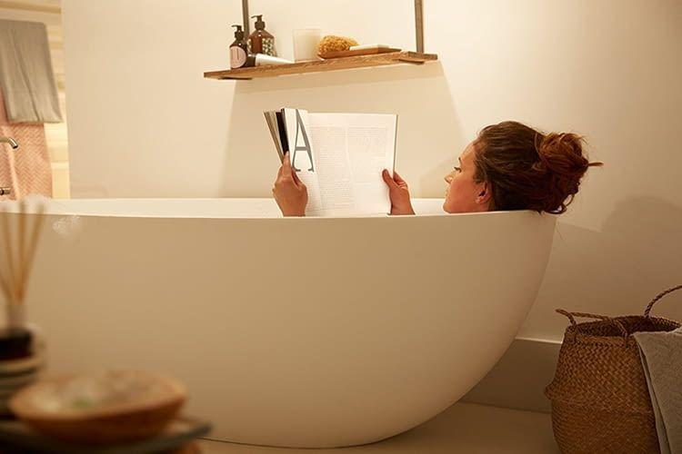 Philips hue adore badlampen spiegelleuchte wandspots und co - Philips hue badezimmer ...