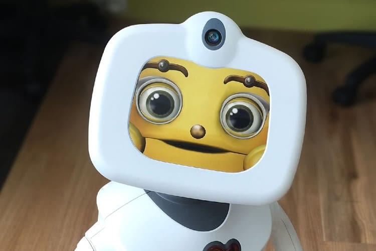 Die Mimik des kleinen Roboters wirkt erstaunlich menschlich