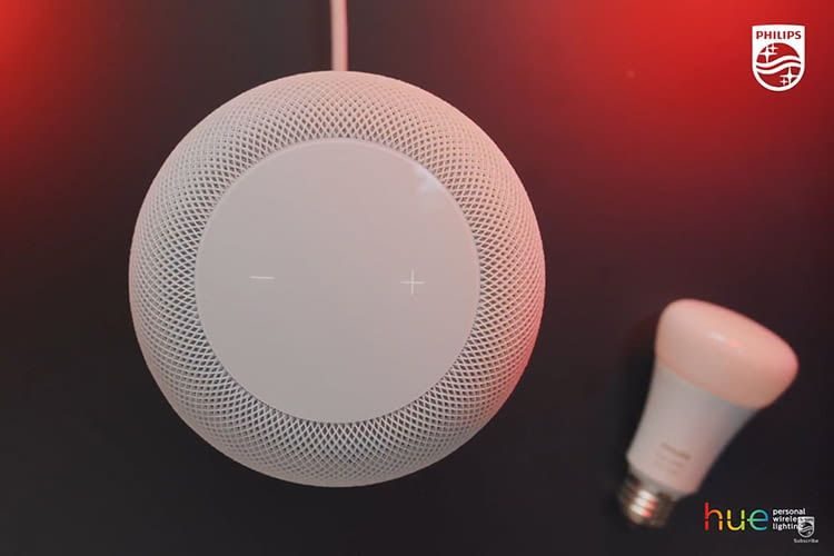 Die Verbindung des Philips Hue Lichtsystems mit Apple HomePod geht einfach und schnell