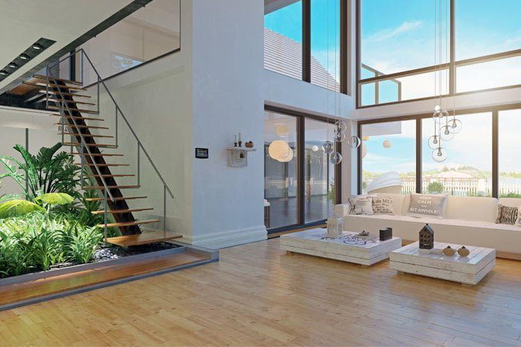 In einem Smart Home sind alle Wohnelemente miteinander verbunden