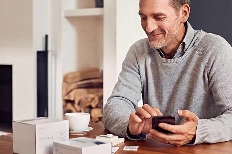 Die WLAN-Thermostate von Homematic IP lassen sich einfach per Handy einrichten