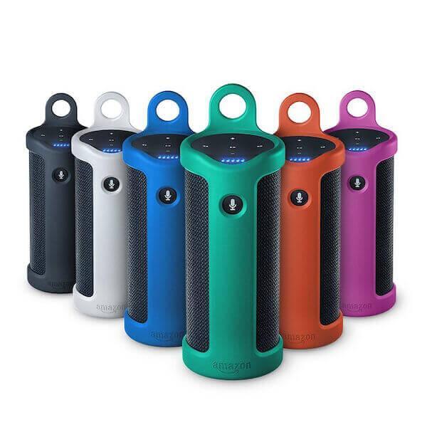 Die Amazon Tap Bluetooth Lautsprecher gibt es in vielen fröhlichen Farben
