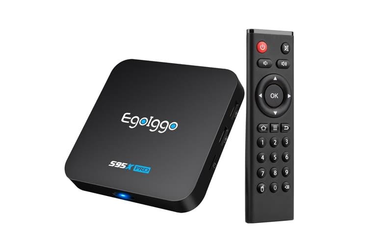 Die Eggoiggo S95X Streaming-Box hat einen Quad-Core ARM Cortex A53 Prozessor