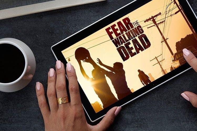 Amazon Prime Video auf dem Fire Tablet HD 10 für das mobile Entertainment