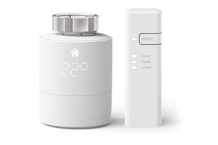 Das tado° Smartes Heizkörper-Thermostat V3+ benötigt eine Bridge. Für Premium-Funktionen muss ein Abo abgeschlossen werden