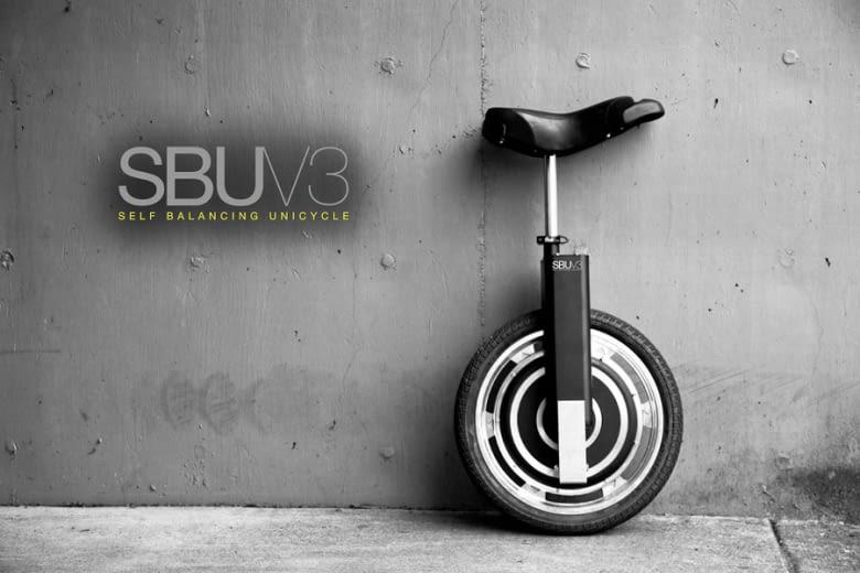 Wie die meisten E-Vehikel nutzt auch das SBU V3 E-Einrad Bremsenergie zum Akkuladen