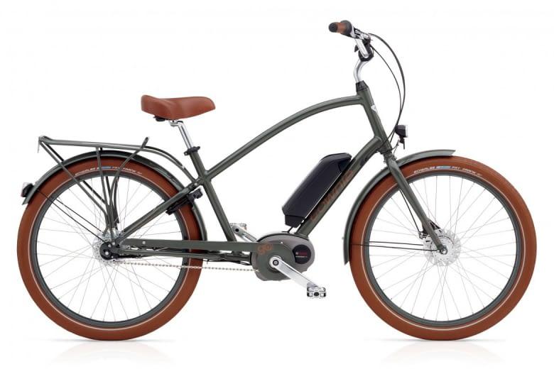 Das Townie GO! 8I das Hollandrad im E-Bike-Format