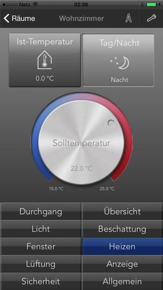 Abbildung der Corlo Mobile App für iOS