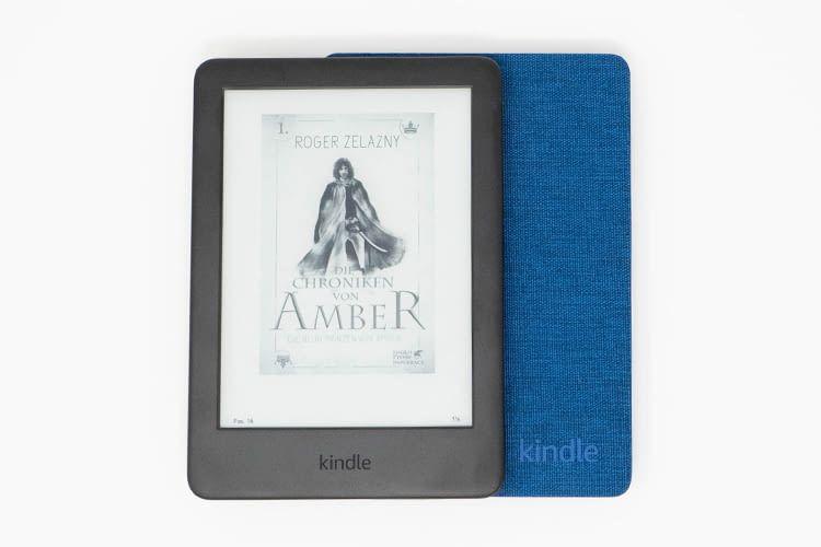 Bücherfreunde müssen beim Amazon Kindle 2019 auch nicht auf die geliebten Buch-Cover verzichten