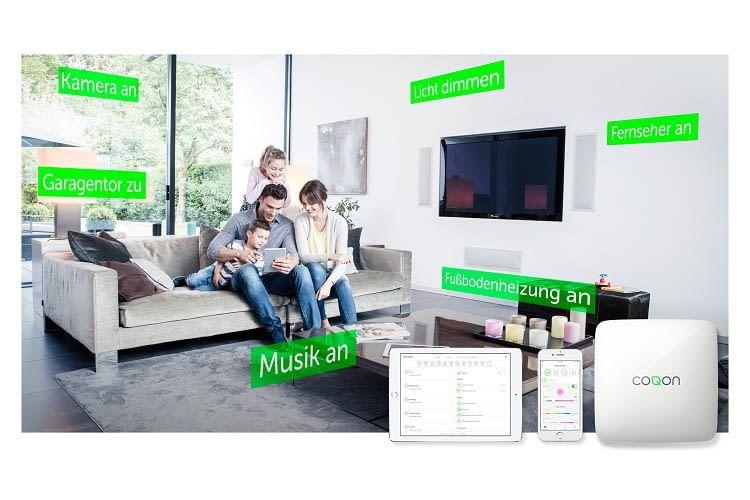 COQON bietet rund 80 Produkte für das Smart Home an