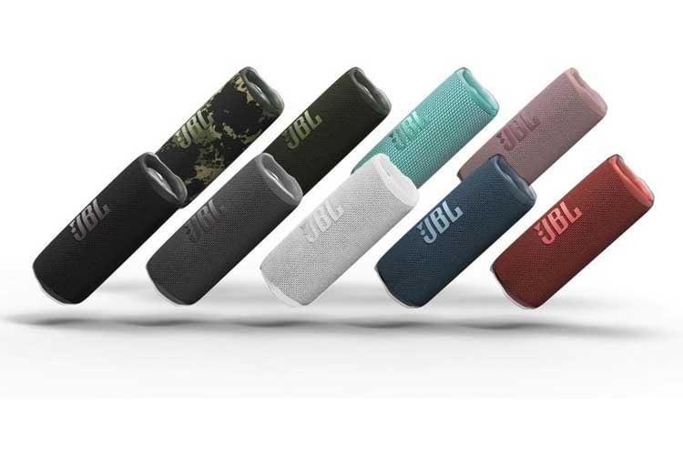 Der JBL Flip 6 Bluetooth Lautsprecher ist in insgesamt 9 verschiedenen Farbvariationen erhältlich