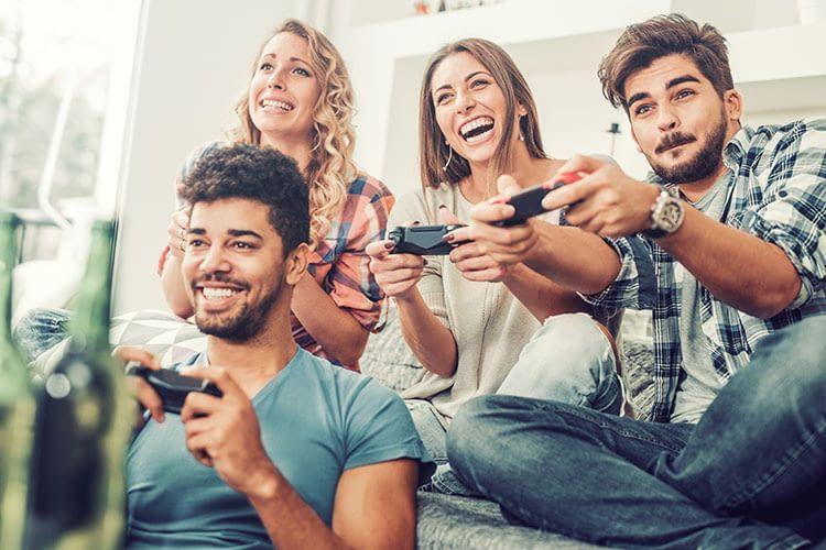 Bei einem guten WLAN geht das Internet auch beim Gaming nicht in die Knie