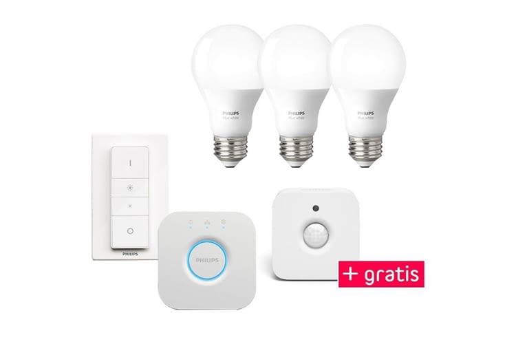 Auch zum Einbruchschutz sind die smarten Lampen bestens geeignet