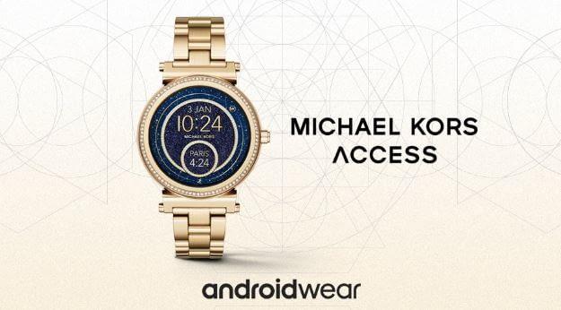 Wer Gold-Design bevorzugt, ist bei Michael Kors in guten Händen
