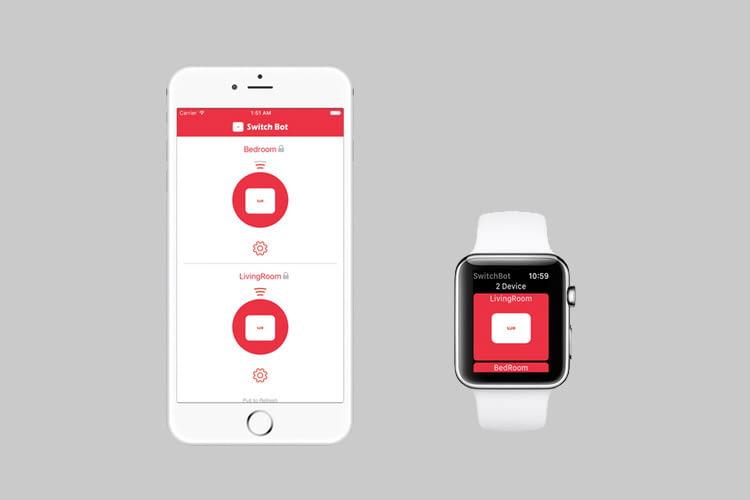 Per App lassen sich Zeitpläne für unterschiedliche Wochentage und Räume festlegen