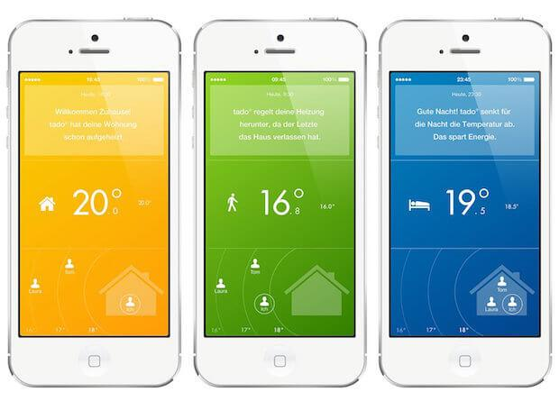 Tado Thermostat App