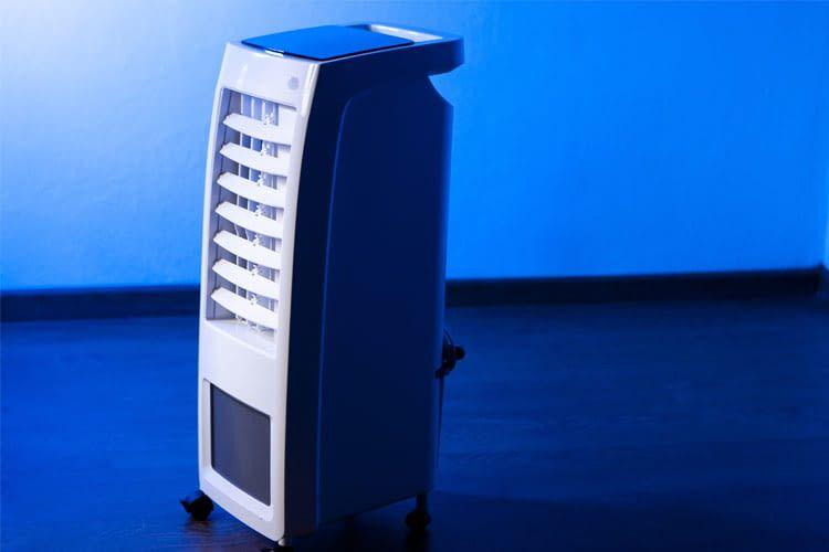 Mobile Klimageräte vereinen oft viele Raumklimafunktionen in sich