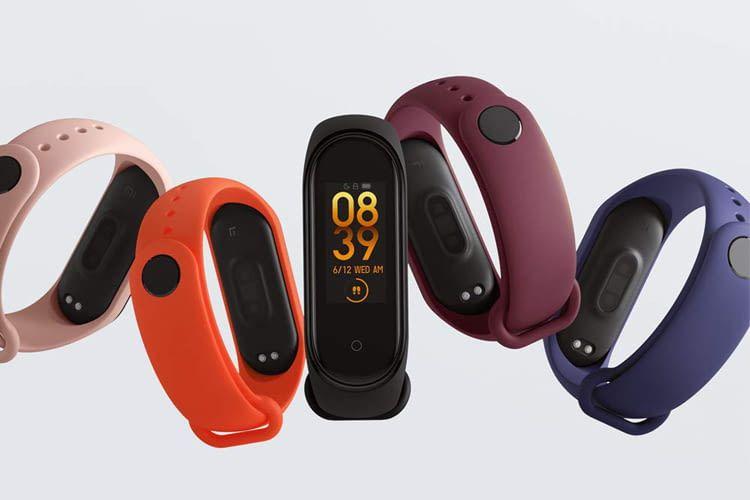 Für das Xiaomi Mi Band 4 wird es Armbänder in unterschiedlichen Farben geben