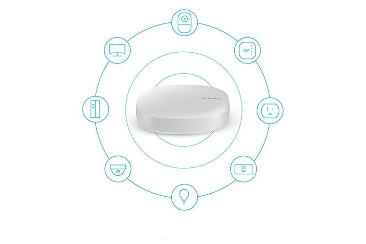 Im Samsung Connect Home WLAN-Router sind Internet und Smart Home vereint