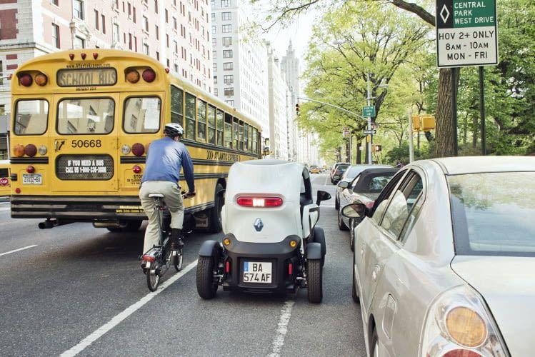 Der Renault Twizy eignet sich perfekt für den Stadtverkehr