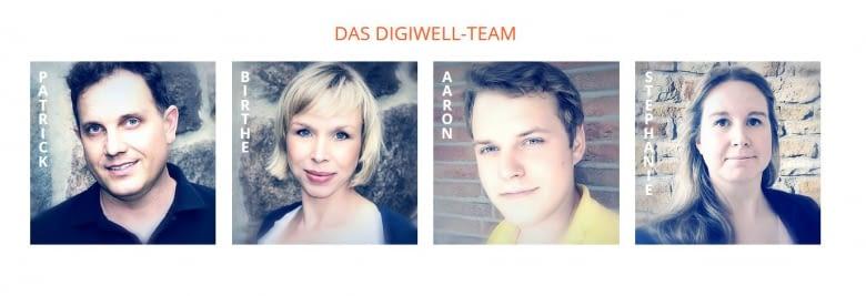 Das Digiwell-Team ist auf der CeBit 2017