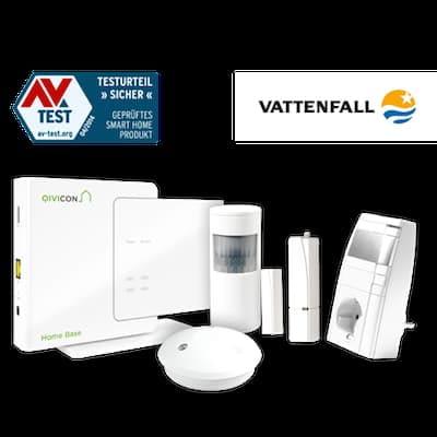 Vattenfall Qivicon HomeBase Sicherheitspaket