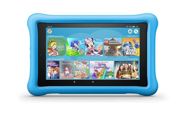 Amazons Fire HD 8 Kids Edition mit kindgerechter Nutzeroberfläche