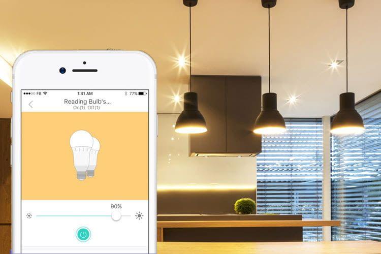 Nutzer können die WLAN LED Leuchte von eufy direkt per App bedienen - ein Gateway ist nicht nötig