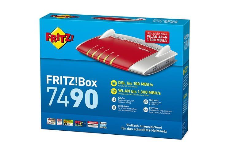 Die Funktionen der FRITZ!Box 7490 lassen sich schnell und einfach personalisieren