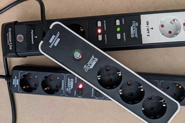 Die brennenstuhl Connect Steckdosenleisten verfügen über einen erhöhten Berührungsschutz, was die Sicherheit signifikant erhöht