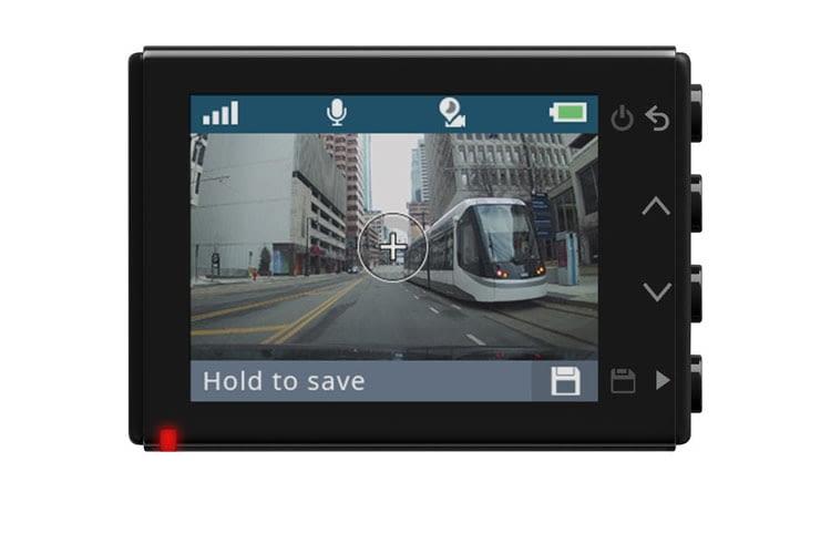 Garmin Dash Cam 55 kann über das Display und per Sprache bedient werden