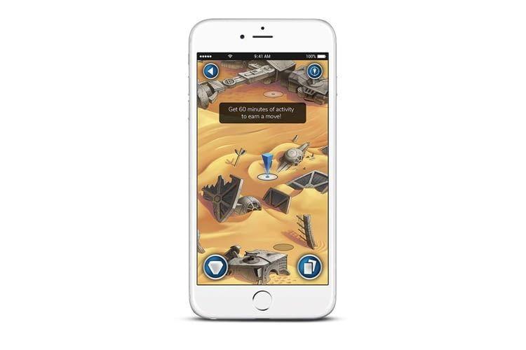 Sobald bestimmte Ziele erreicht sind, gibt es in der App neue Abenteuer zu entdecken