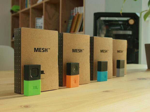 Abbildung von 4 MESH Wireless Function Tags - DIY-Kit