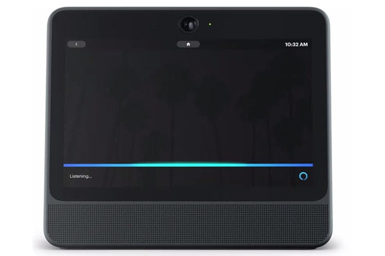 Das Smart Display Portal von Facebook arbeitet mit Alexa von Amazon