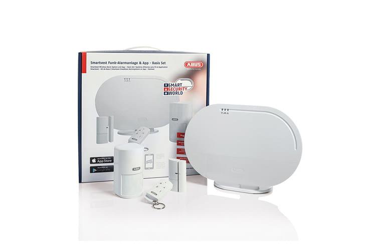 Die ABUS Smartvest Funk-Alarmanlage ist in verschiedenen Varianten erhältlich