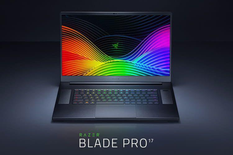 Das schlanke Design macht den Razer Blade Pro zu einer äußerst portablen Gaming-Maschine