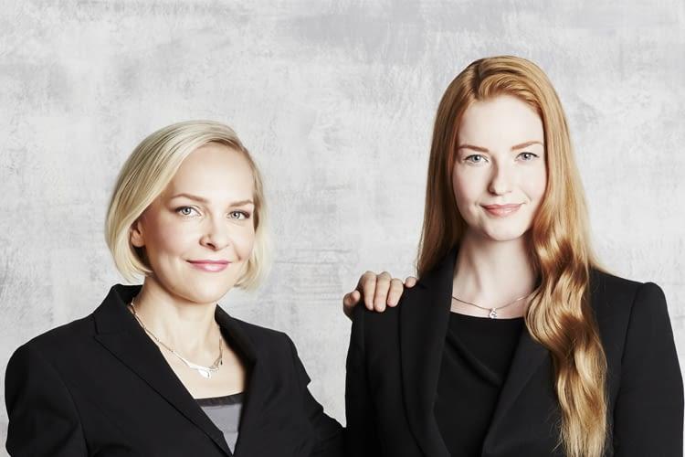 Gründerinnen mit Vision: Suvi Haimi und Laura Kyllönen