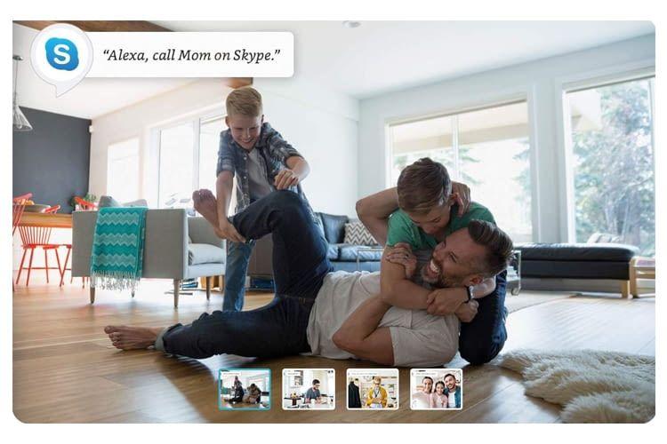 Alexa verbindet uns auf Zuruf mit Familienmitgliedern, Freunden oder Geschäftskontakten