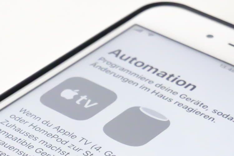 Als Steuerzentrale kann ein iPad, Apple TV oder HomePod dienen