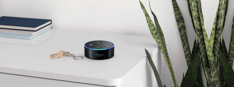 So groß wie ein Schlüsselbund: Der Echo Dot ist der Best Buy der Alexa-Familie