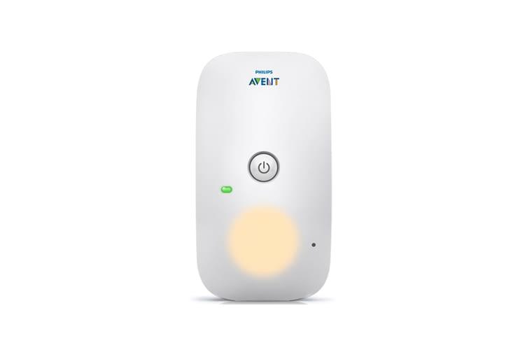 Am Babyphone kann ein Nachtlicht aktiviert werden