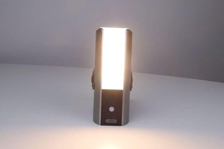 Bringt Licht ins Dunkel bei Gaunerzinken: die ABUS Lichtkamera