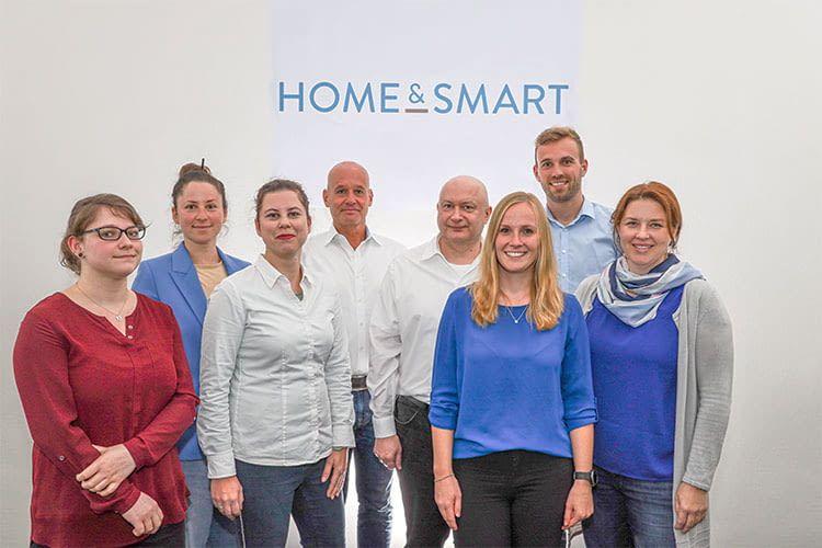 Das home&smart Team in Karlsruhe