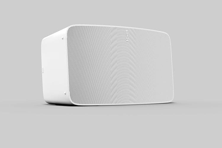 Sonos Five HiFi Box im weißen Monochrom Finish