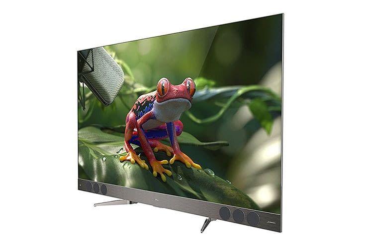 TCL U55X9006: 4K Ultra-HD-Fernseher mit QLED-Display und 3 Wege-Audiosystem von JBL