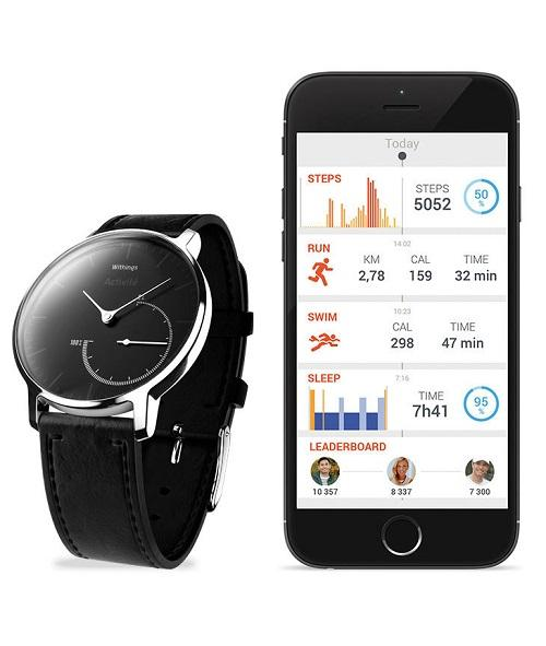 Withings Activté Steel mit Health Mate App @ withings.com