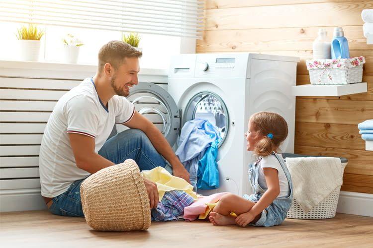 Waschtrockner, egal welcher Art, sollten von Kindern nur unter Aufsicht bedient werden