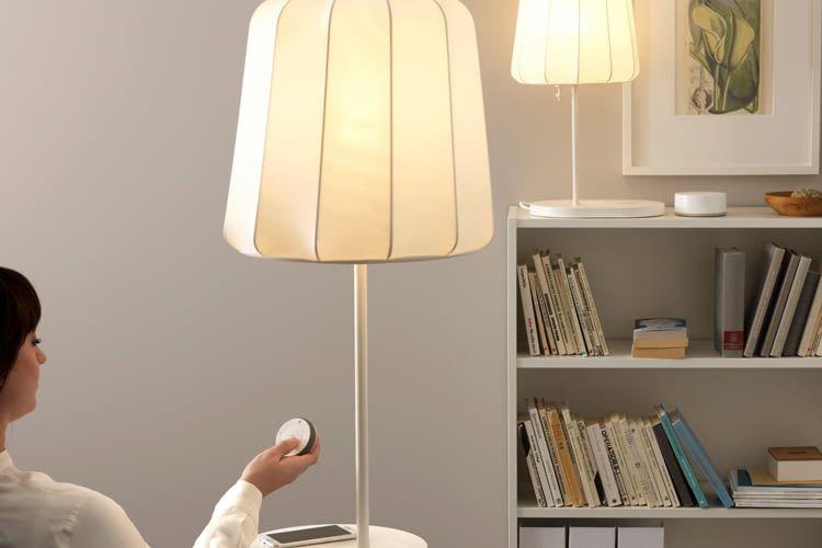 Ziemlich lässig - den IKEA TRÅDFRI Dimmschalter einfach in der Luft drehen