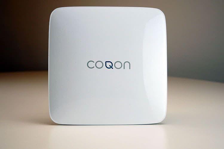 Herzstück des COQON Smart Homes ist die QBOX BASIC Smart Home Zentrale